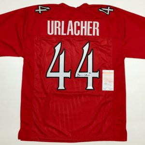 ad50055d272 BRIAN URLACHER AUTOGRAPHED COLLEGE STYLE JERSEY with JSA WITNESSED COA